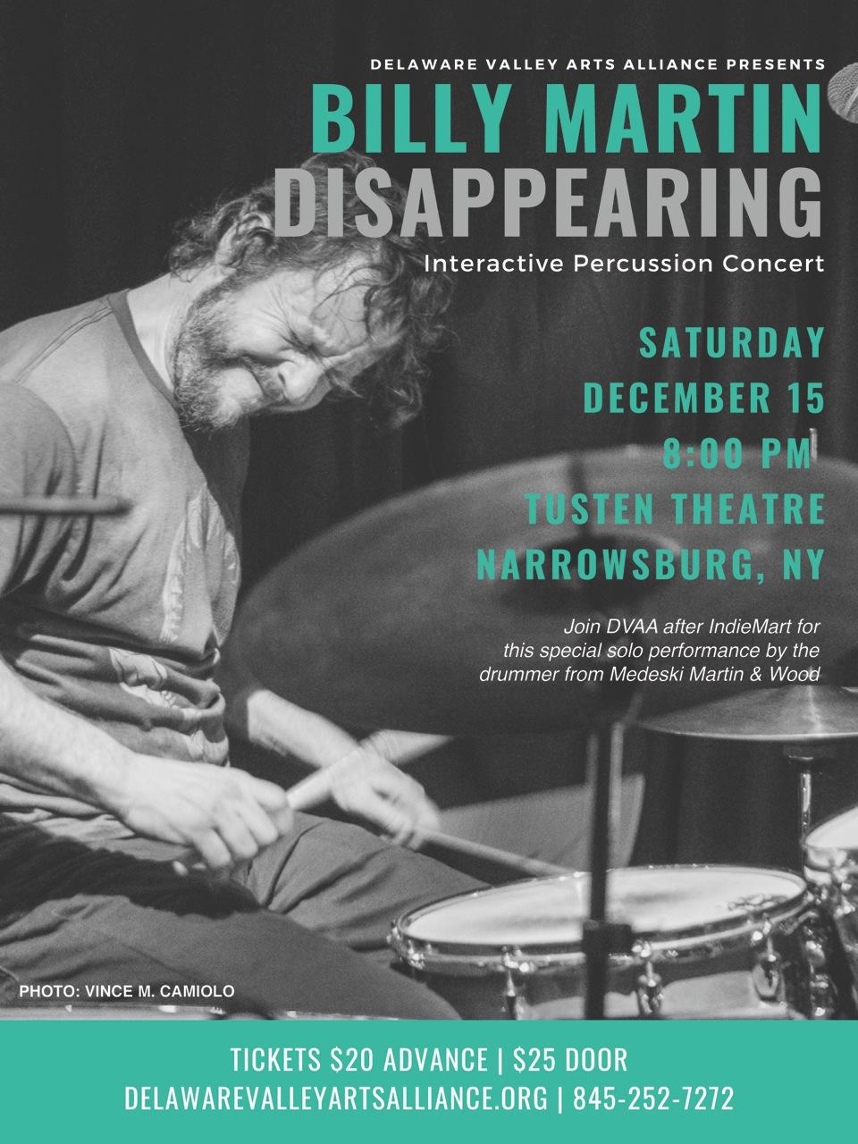 DVAA Billy Martin Poster Dec 15